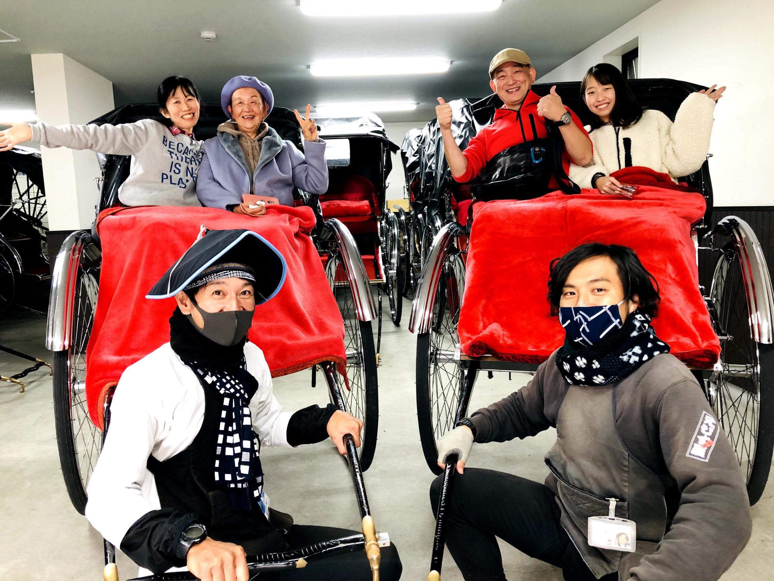 東京さんぽで行く人力車の旅