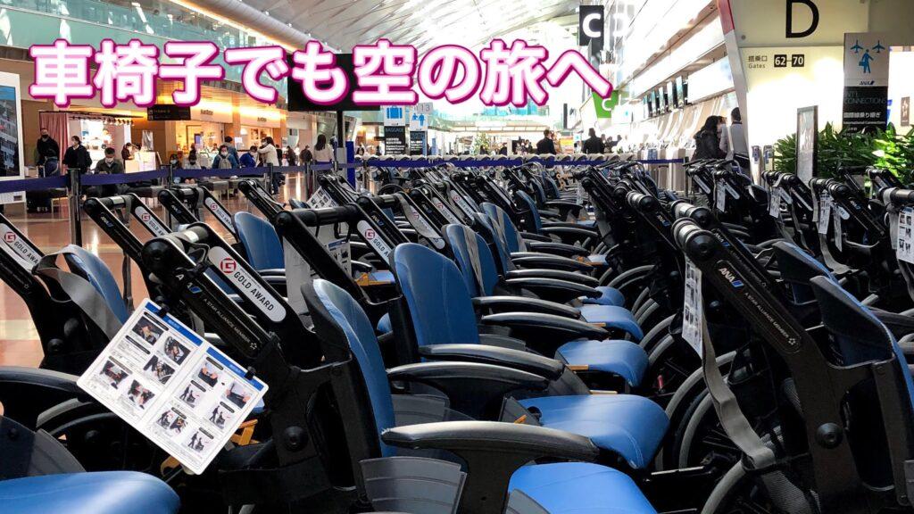 介護付き旅行サービス東京さんぽで行く空の旅