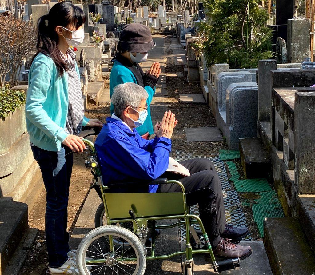 東京さんぽで行くお彼岸のお墓参り